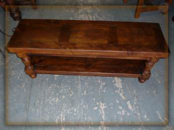 Hacienda Coffee Table Monterrey Rustic Furniture