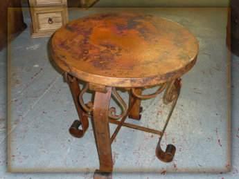 Hacienda Round Table Monterrey Rustic Furniture