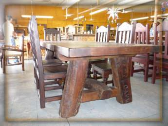 Hacienda Rustic Dining Table Monterrey Rustic Furniture