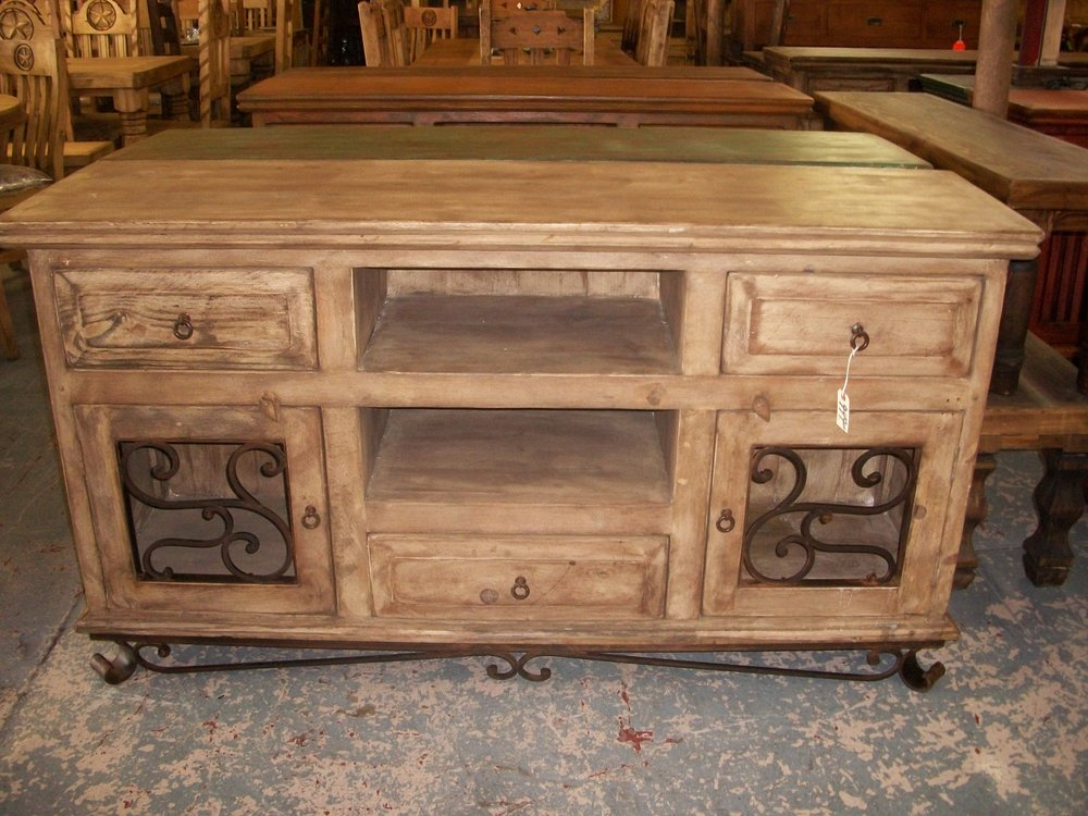 Reclaimed Wood Rustic Credenza Monterrey Rustic Furniture