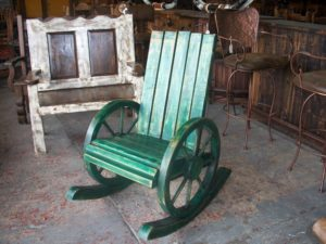 Pueblo Rocking Chair