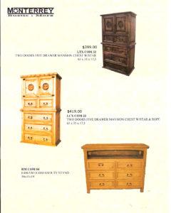 Monterrey Rustic Furniture