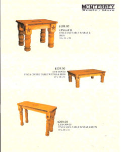 Finca End Tables