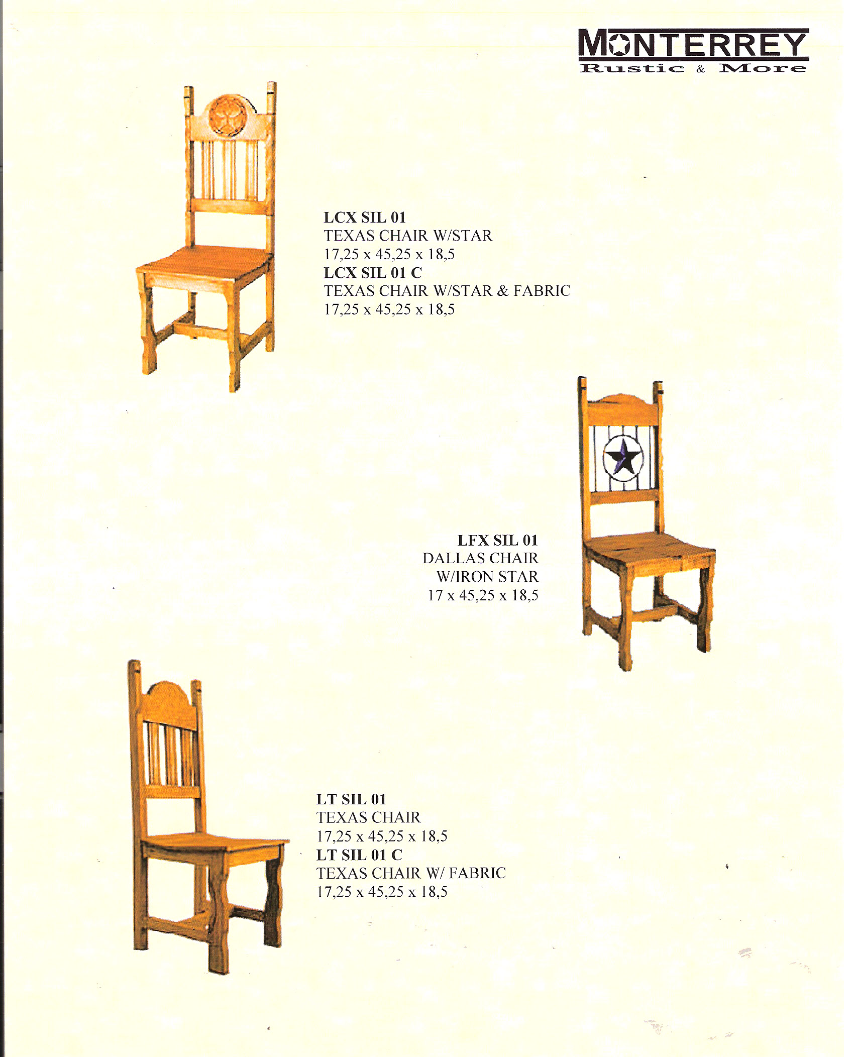 Texas Star Dining Room Chairs