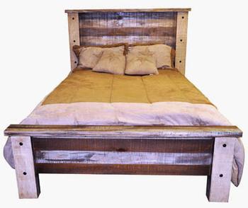 Multi Color Bed Monterrey Rustic Furniture
