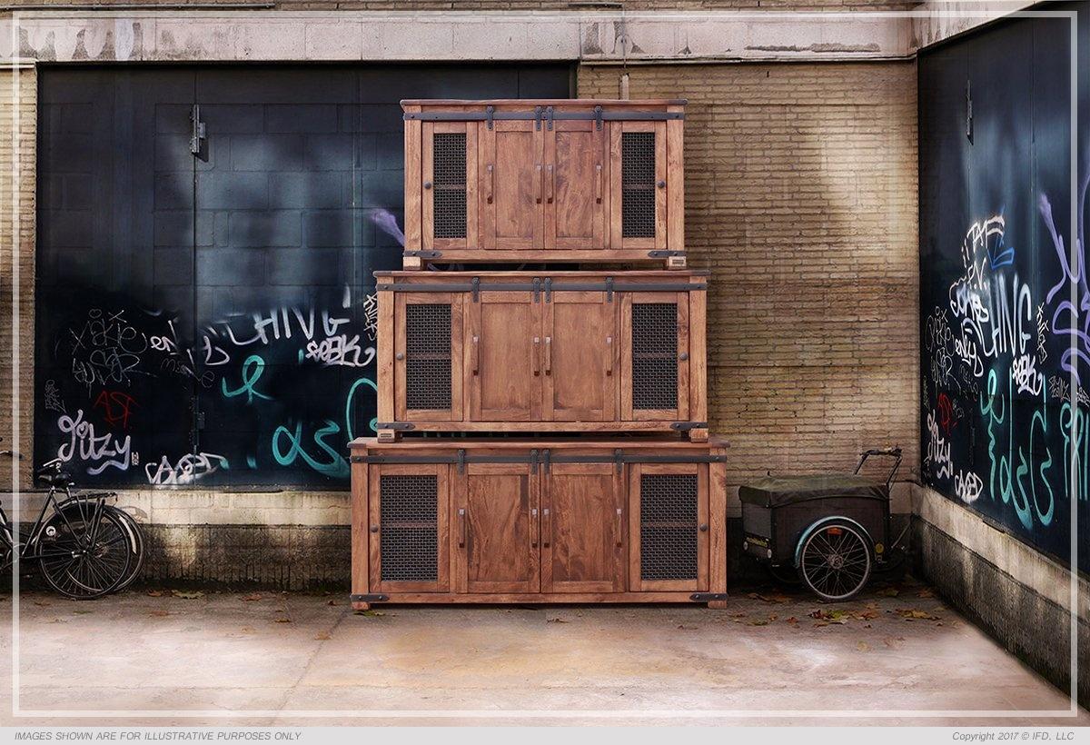 Parota Tv Stand Collection Monterrey Rustic Furniture